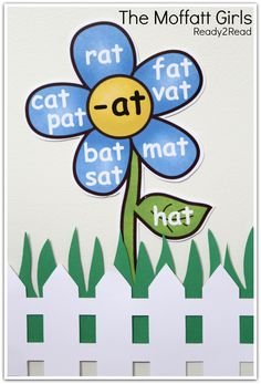 Word Family Garden!  Plant a garden of words to help build confidence and fluency!