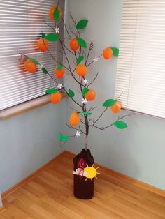 Portakal ağacım. Turuncu balonlardan portakal ağacı