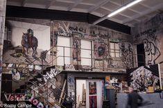 The studio of Jonas Burgert