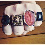 "374 Me gusta, 9 comentarios - The Rusted Anchor / Katie (@rustedanchorantiques) en Instagram: ""#justfound (also, hi guys ) • • #rustedanchor #showmeyourrings #ringsoftheday #ringsofinstagram…"""