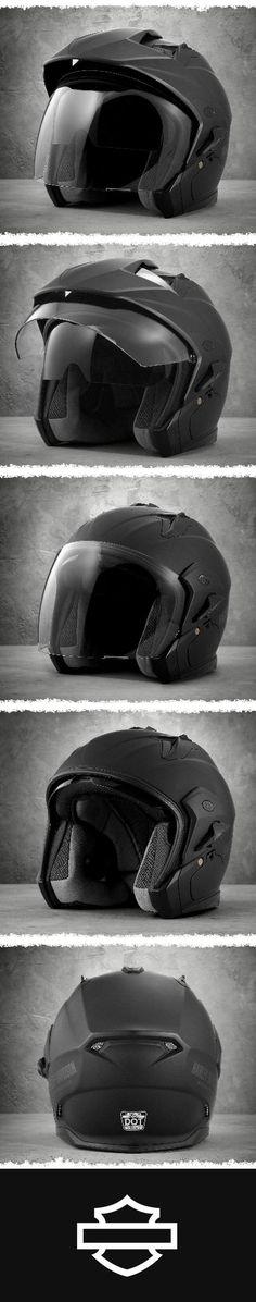 One of the most versatile designs on the road. Harley Davidson Online Store, Motorcycle Helmets, Motocross, Motorcycles, Sun, Motorbikes, Accessories, Dirt Biking, Motorcycle Helmet