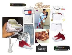 """""""#relationship goals"""" by fxmous-maniiiii ❤ liked on Polyvore featuring Tommy Hilfiger, Calvin Klein, Jacqueline De Yong, AGOLDE, Bling Jewelry, Bianca Pratt, NIKE, cute, daddy and goals"""