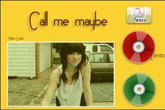 CALL ME MAYBE, Carly Rae Jepsen, partitura para flauta con acompañamiento instrumental