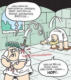 Özer Aydoğan'ın Elinden Çıkmış Seçmece 24 Karikatür