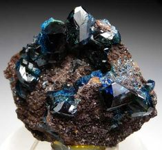 <3 Lazulite from Rapid Creek, Yukon, Canada [db_pics/pics/na140a.jpg]