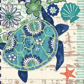 Found it at Wayfair - Oceania Sand Dollars by Jennifer Brinley 4 Piece Wall Art on Wrapped Canvas Set