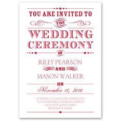 Stylish Wedding Invitations under $1