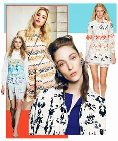 Trends // Pattern People - Print And Color Trend Guide . S/S 2015
