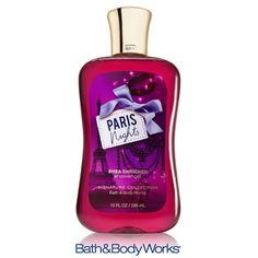 NEW Shea Enriched Paris Nights Shower Gel — a hint of night-blooming jasmine in the evening air! ♥   #LUVBBW