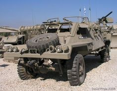 RBY Mk 1 Armored Car The RBY Mk 1 is a 4x4 light reconnaissance vehicle. It was developed in 1975 by RAMTA, a subsidiary of IAI. It is airmobile while maximizing anti-mine protection. The vehicle can be armed with four pintle mounted MAG machine guns.