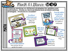 TONS of May (and End of the Year) Goodies and FREEBIES! - Mandy's Tips for Teachers