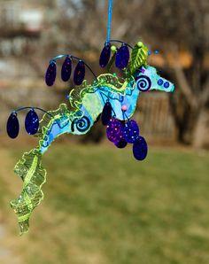 Leafy Sea Dragon Seahorse Ornament Sculpture by BrookeConnorDesign, $35.00