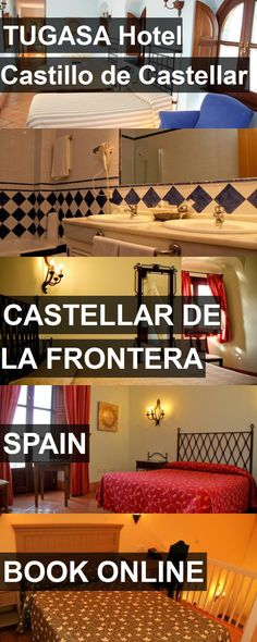 TUGASA Hotel Castillo de Castellar in Castellar de la Frontera, Spain. For more information, photos, reviews and best prices please follow the link. #Spain #CastellardelaFrontera #travel #vacation #hotel
