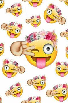 Emoji stamps on invites Cute Emoji Wallpaper, Wallpaper Iphone Disney, Cute Cartoon Wallpapers, Hipster Wallpaper, Cool Wallpapers For Your Phone, Smiley Emoji, Smiley Faces, Tumblr Quality, Whatsapp Wallpaper
