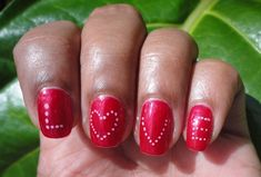16 Killer Valentine's day Nail Art Ideas!