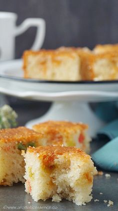 Step-by-step recipe with pictures to make eggless Rava Cake Eggless Recipes, Eggless Baking, Easy Cake Recipes, Baking Recipes, Goan Recipes, Indian Dessert Recipes, Indian Sweets, Indian Snacks, Indian Recipes