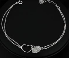 Handmade Jewellery and Bridal Accessories. Located in Castlebar, Co. Bridal Jewellery, Heart Bracelet, Bridal Accessories, Silver Bracelets, Handmade Jewelry, Romantic, Pretty, Gifts, Beautiful