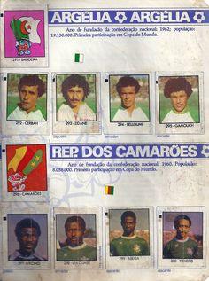 Argélia  /  República dos Camarões - Copa do Mundo Espanha 1982