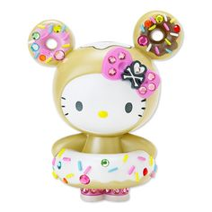 Love Hello Kitty. She's classic. We go back since the late 80's