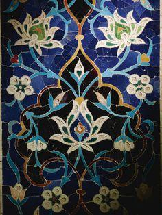 Tile Art, Mosaic Art, Mosaic Tiles, Islamic Art Pattern, Pattern Art, Islamic Tiles, Persian Pattern, Persian Culture, Iranian Art