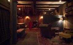 Wintertime purrrrr..... The Lodge at Gallow Green