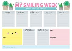 [Freebie] New printable organizer - weekly planner!