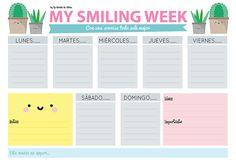 [freebie] ¡Nuevo imprimible organizador - planificador semanal!