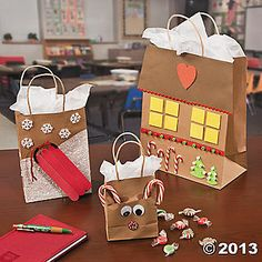 Small Craft Gift Bags