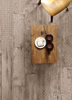 Tagina - Rivamancina. With the wood effect glazed porcelain of Rivamancina it is possible to create and give life to any project, big or small. The variety of each tile gives way for a world of matching and creativity. #Cersaie2016 #RusticModern