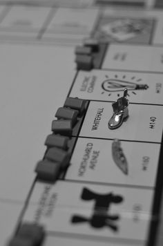 Monopoly.  We loved playing this game.  We would leave it set up day after day, until we could play no more.