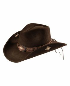 ccc5425cade Scala Leather Laced Hat Band Wool Felt Cowgirl Hat Western Hats