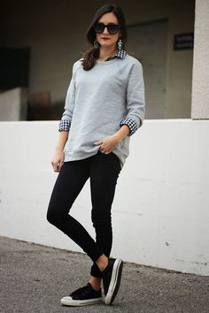 A Gap shirt as featured on the blog Frankie Loves Fashion.