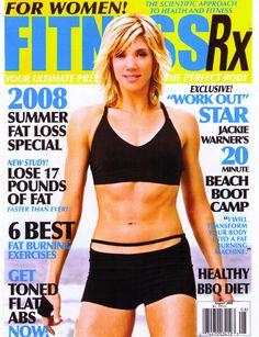 Magazine Covers - Jackie Warner : Celebrity Fitness Trainer