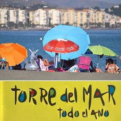 Torre del Mar is the Spanish resort of choice. Although it lacks the golden sands (more a dirty grey colour) it has one of the best promenades in Europe. They claim it is the longest in Europe.  #andalucia #andalusia #spain #visitspain #costadelsol #bloggerinspain #torredelmar #beachpromenade #beachresort #spanishbeach #spanishbeaches