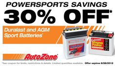 Need #deals on #DIY #auto #parts or #car #repair? Facebook #Coupon - 30% OFF Select Batteries at @AutoZone!