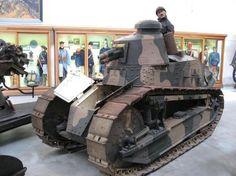 WWI English Mark IV tank