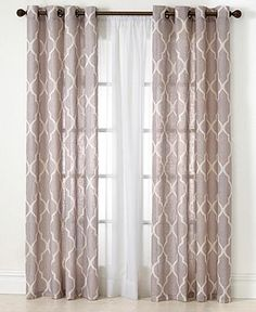 Design Fixation: A Modern Take On Curtains For The Living Room ...