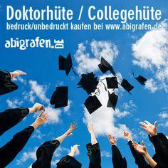 #Doktorhut #Collegehut #Mortarboard #Abschlusshut - bedrucken mit individuellem #Abimotto - abigrafen.de