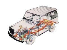 Mercedes Benz G 500, Mercedes Benz G Klasse, Mercedes Benz Germany, Cutaway, 4x4, Motor Car, Auto Motor, Motor Sport, Car Design Sketch
