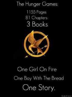 The Hunger Games. Pages, Chapters, Books, The Girl On Fire, The Boy With Bread, The Story