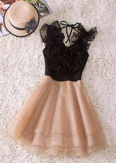 Ruffled Dress love