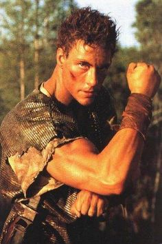 Jean Clude Van Damme in Cyborg. Movie 1989