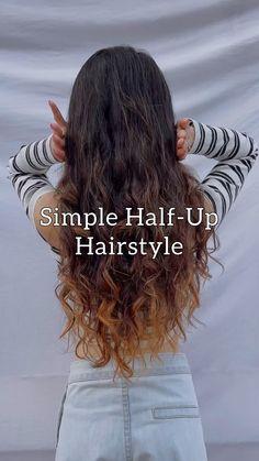 Scarf Hairstyles, Summer Hairstyles, Cute Hairstyles, Medium Hair Styles, Natural Hair Styles, Long Hair Styles, Curly Hair Styles Easy, Hair Upstyles, Diy Hair Care