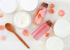 How to Make Rose Water at Home in 5 Easy Steps - PureWow Best Purple Shampoo, Face Care, Skin Care, How To Make Rose, Eyeliner For Beginners, Dried Rose Petals, Pot Lids, Beauty Dupes, Peeling