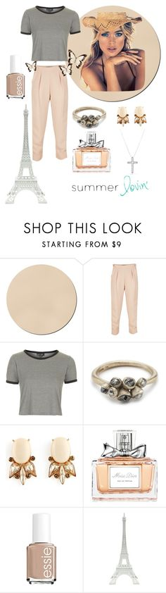 """Summer Lovin'"" by astridtos ❤ liked on Polyvore featuring WALL, Rachel Comey, Topshop, Ruth Tomlinson, Christian Dior, maurices, Essie, Merci Gustave! and David Yurman"