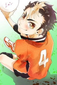 Nishinoya Yuu: Haikyuu Nishinoya, Oikawa X Iwaizumi, Manga Haikyuu, Kuroo, Kenma, Manga Anime, Anime Art, Cute Anime Pics, Anime Love