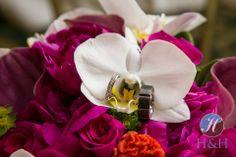 #pink wedding bouquet