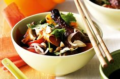 Barbecued duck salad main image