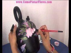 """Como Pintar Flores Clase """"Gratis"""""""