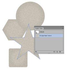 Quick Tip: How to Create a Grunge Paper Texture Graphic Style in Illustrator (via vector.tutsplus.com)